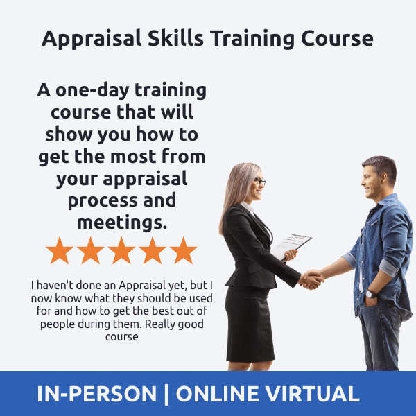 Appraisal Skills Training Course - How to Deliver Effective Appraisals