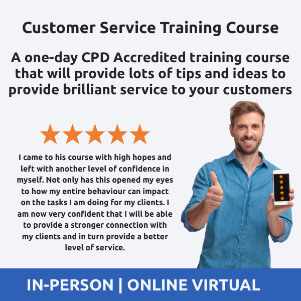 Customer Service Training Course - The Importance of Customer Service