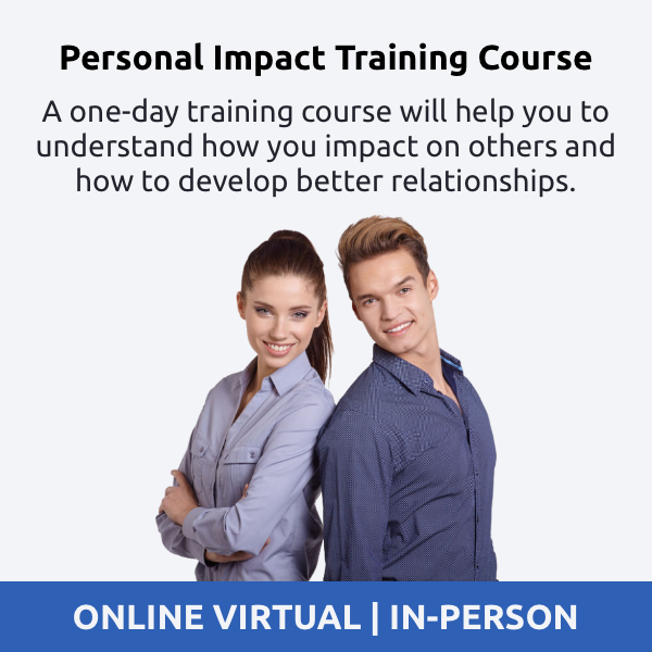 personal impact training course - how am i being perceived