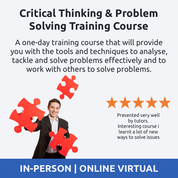 Critical Thinking and Problem Solving Training Course