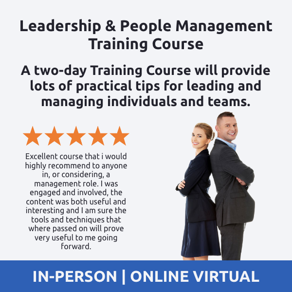 Leadership and People Management Training Course - Mintzberg's Management Roles