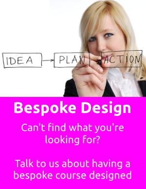 bespoke training course design