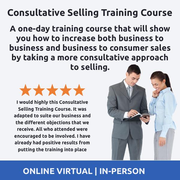 Consultative Selling Training Course