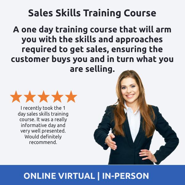 Sales Skills Training Course