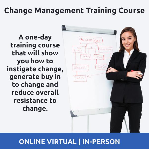managing Change Training Course