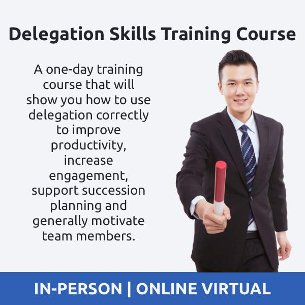 Delegation Skills Training Course - Online Delegation Skills Course