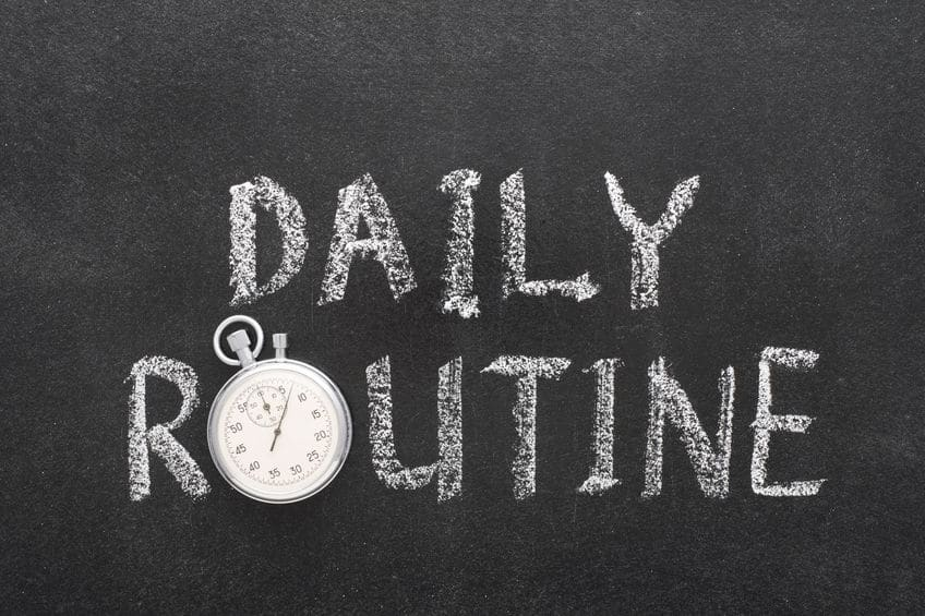 Why Having a Routine Can Help With Productivity