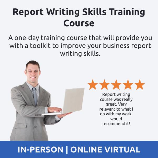 Report Writing Skills Training Course