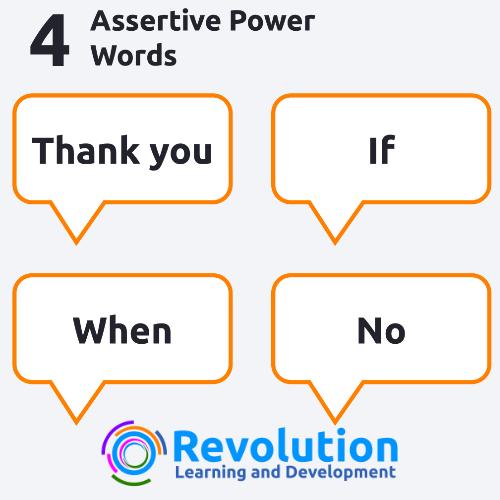 4 Assertive Power Words