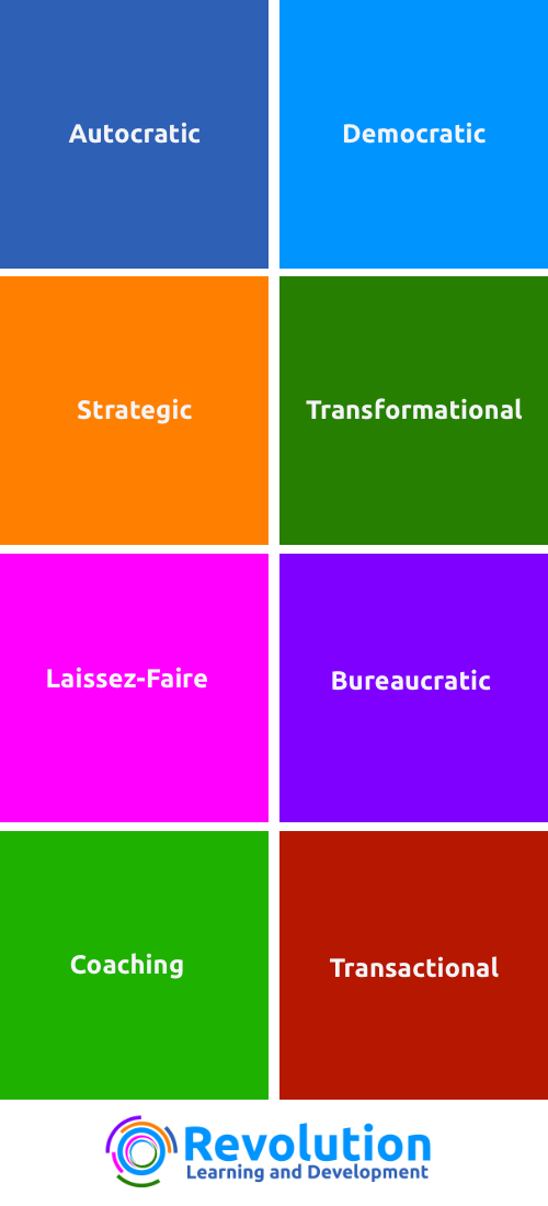 the 8 common leadership styles